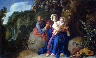 Pieter Lastman - The Rest on the Flight into Egypt