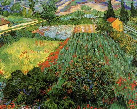 Vincent van Gogh - Field with Poppies