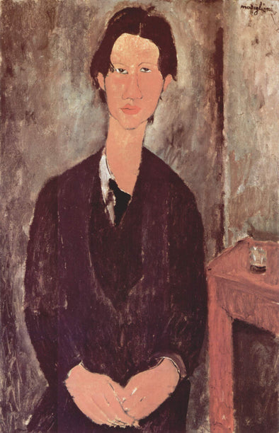 Amedeo Modigliani - Portrait of Chaim Soutine
