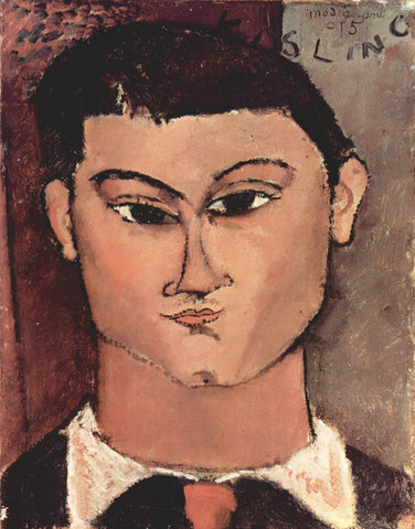 Amedeo Modigliani - Portrait of Moise Kisling