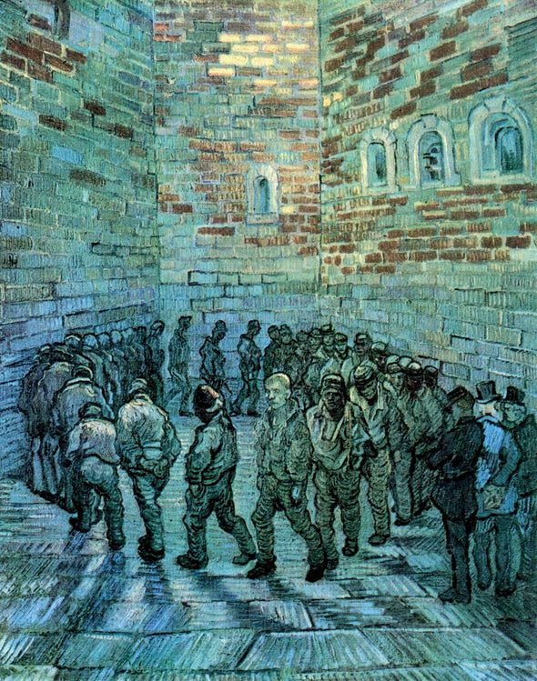 Vincent van Gogh - Prisoners Exercising