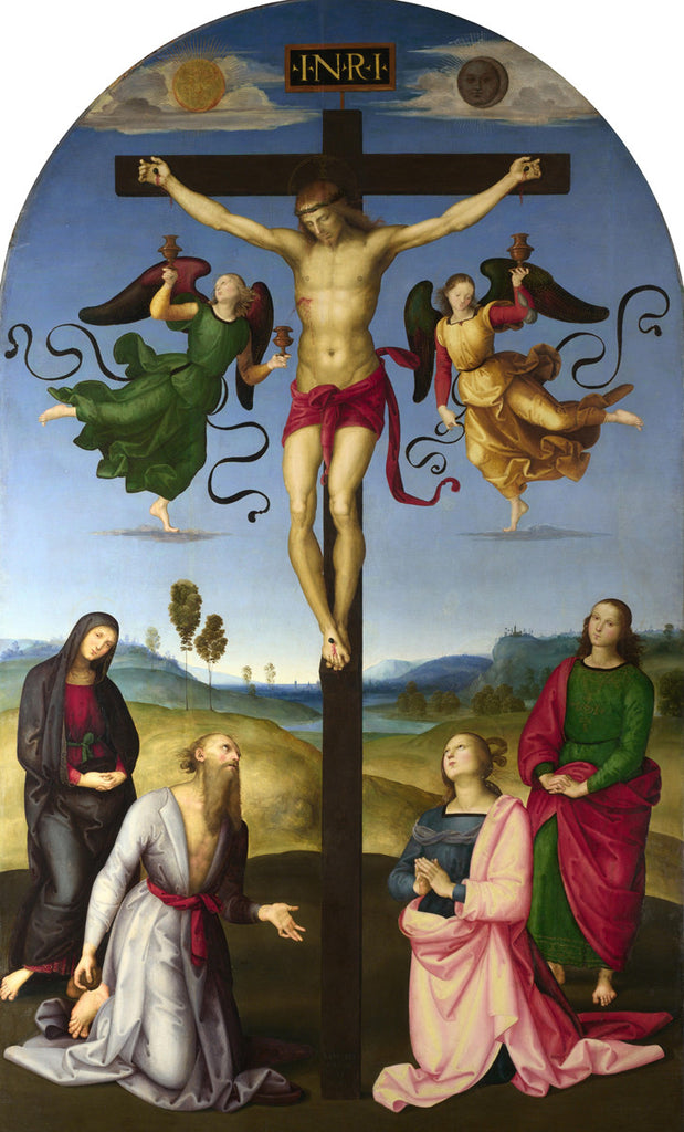 Raphael - Crucifixion with the Virgin, Saints and Angels