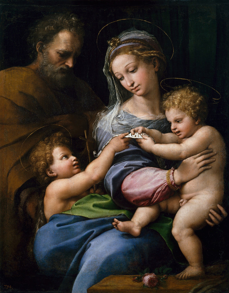 Raphael - Holy Family with Saint John