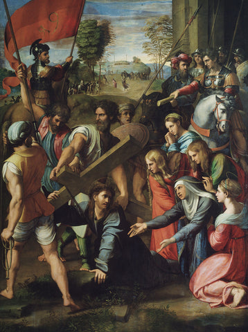 Raphael - Jesus Carrying His Cross