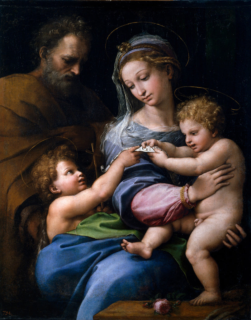 Raphael - Madonna of the Rose