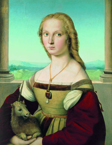 Raphael - Portrait of a Lady with a Unicorn