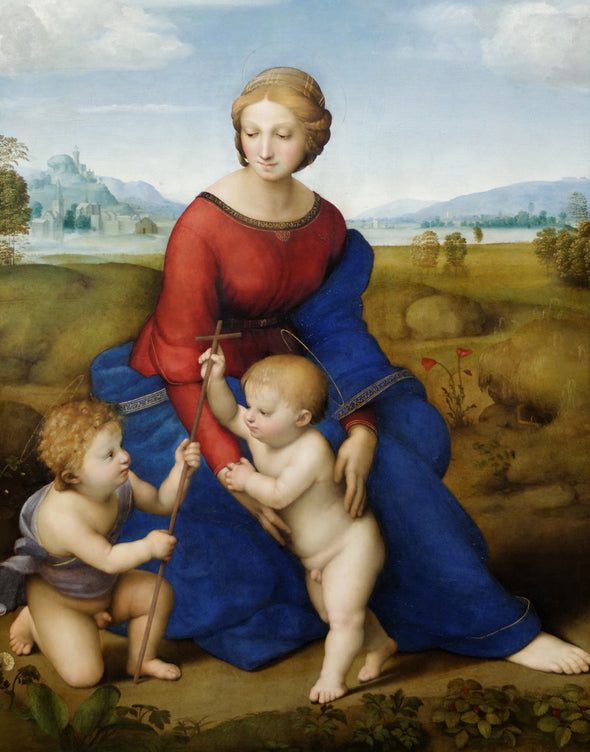 Raphael - Raphael Madonna of the Meadow
