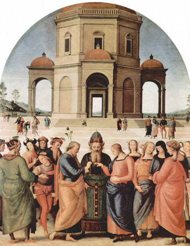 Raphael - The Marriage of the Virgin