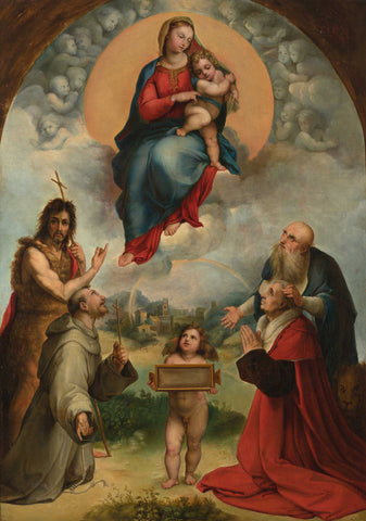 Raphael - The Small Madonna of Foligno
