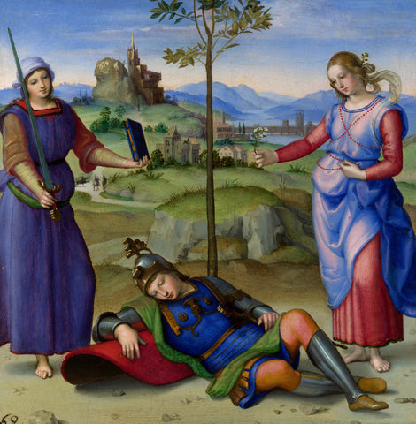 Raphael - The Vision of a Knight