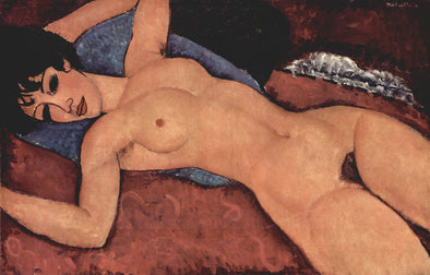 Amedeo Modigliani - Red Nude