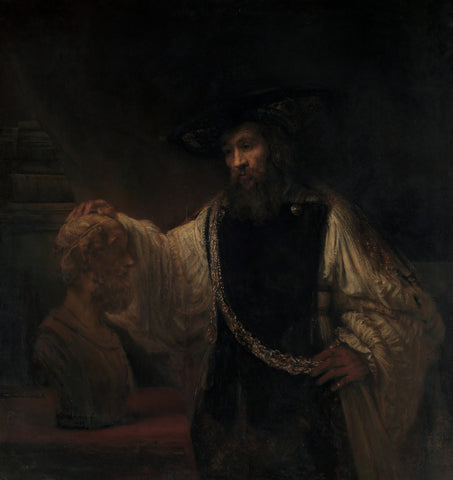 Rembrandt - Aristotle with a Bust of Homer