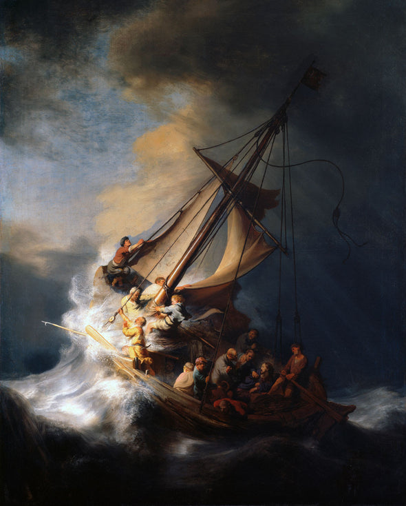 Rembrandt  - Christ in the Storm on the Lake of Galilee