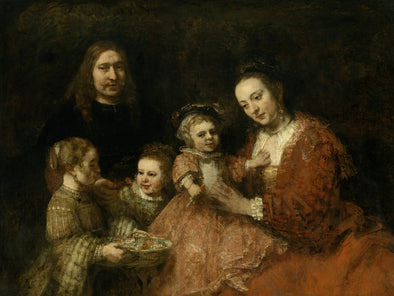 Rembrandt - Family Group