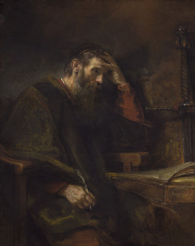 Rembrandt - Paul the Apostle