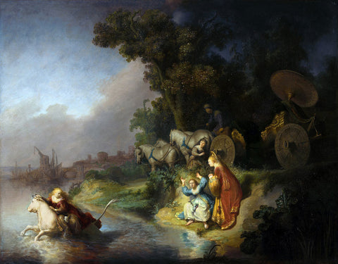 Rembrandt  - The Abduction of Europa