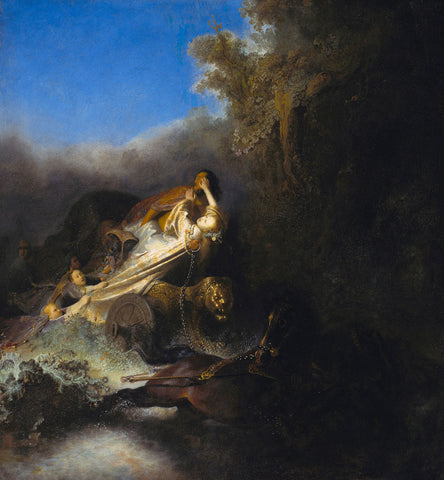 Rembrandt  - The Abduction of Proserpina