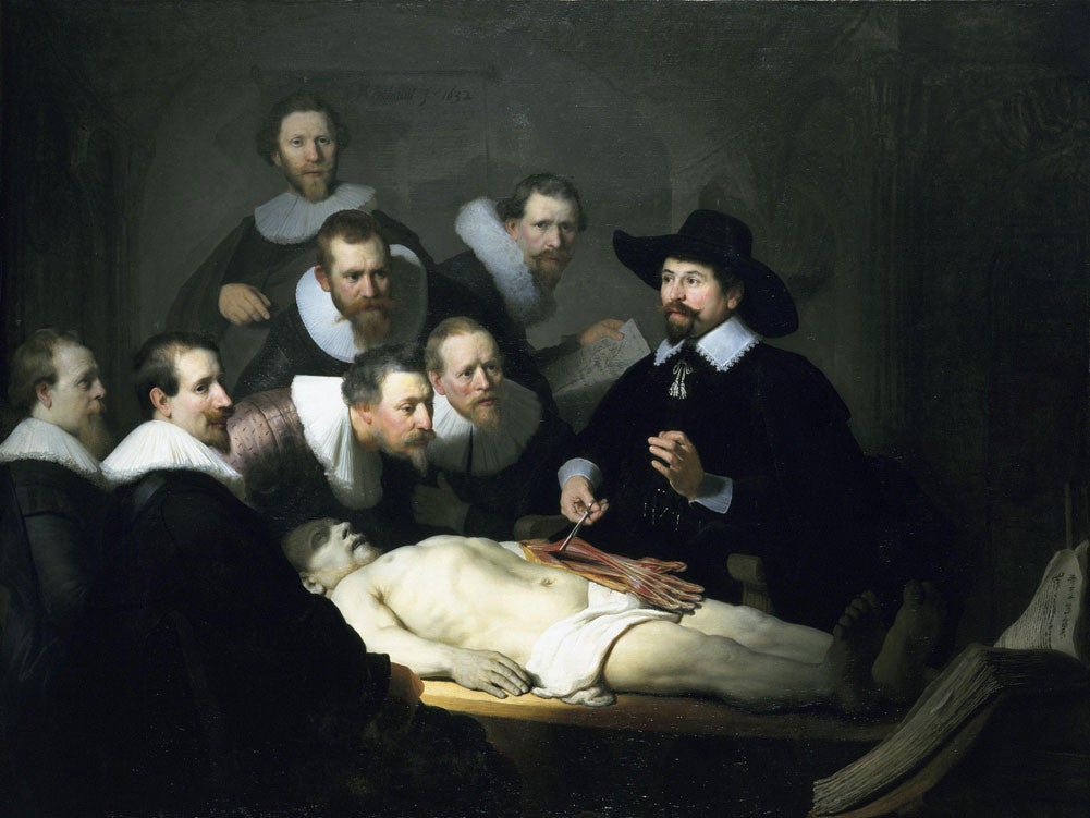 Rembrandt  - The Anatomy Lesson of Dr. Nicolaes Tulp