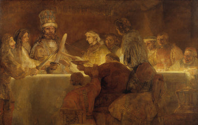 Rembrandt  - The Conspiracy of Claudius Civilis