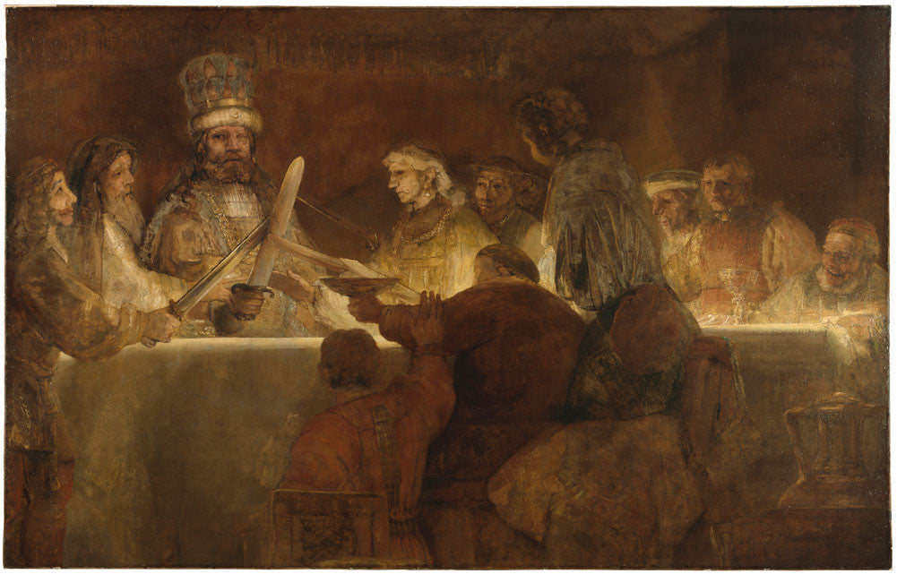 Rembrandt  - The Conspiracy of Claudius
