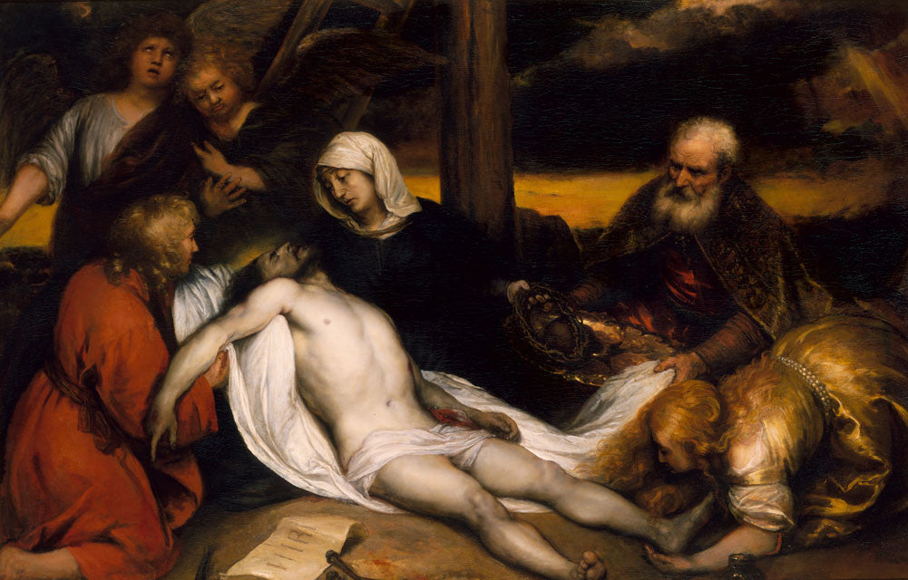 Rembrandt  - The Lamentation of Christ and Samson and Delilah