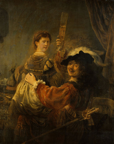 Rembrandt  - The Prodigal Son in the Tavern