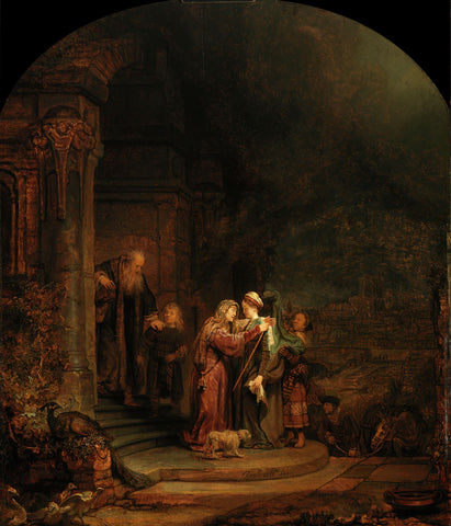 Rembrandt  - The Visitation