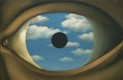 René Magritte - False Mirror