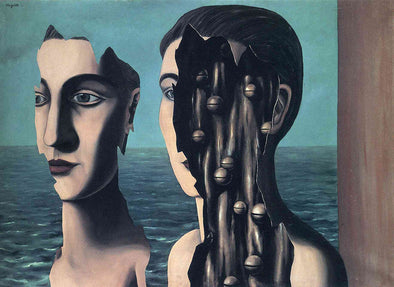 René Magritte - The Double Secret
