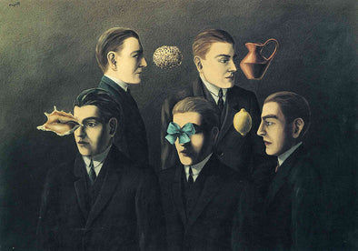 René Magritte - The Familiar Objects