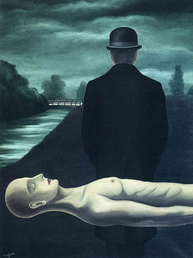 René Magritte - The Musings of the Solitary Walker