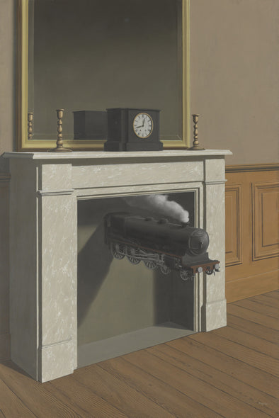 René Magritte - Time Transfixed