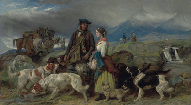 Richard Ansdell - Going to the Shooting Lodge