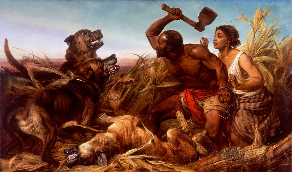 Richard Ansdell - The Hunted Slaves