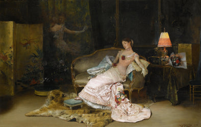 Rogelio de Egusquiza - A Reverie during the Ball