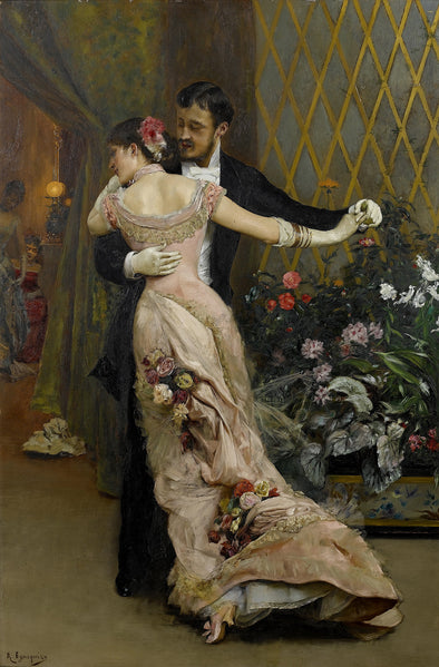 Rogelio de Egusquiza - The End of the Ball
