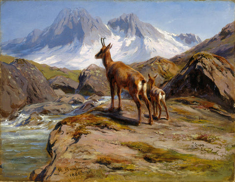 Rosa Bonheur - Mother and Baby