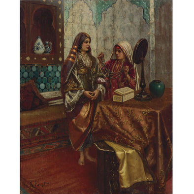 Rudolph Ernst - Adorning the Harem