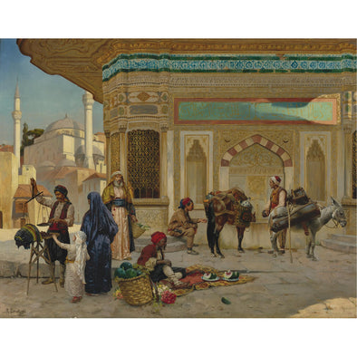 Rudolph Ernst - The Fountain of Ahmed Iii, Istanbul