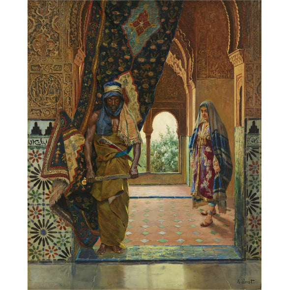 Rudolph Ernst - The Guard of the Harem