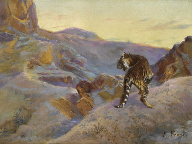 Rudolph Ernst - Tiger in the Mountains