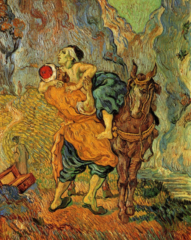 Vincent van Gogh - The Good Samaritan After Delacroix