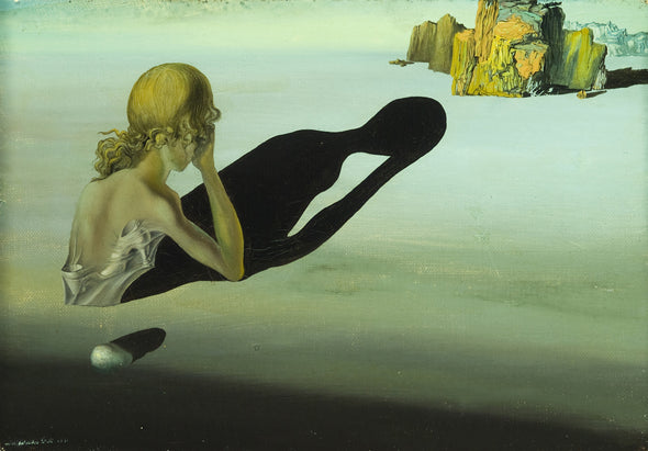 Salvador Dali - Remorse or Sphinx Embedded in the Sand