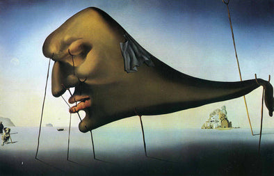 Salvador Dali - Sleep