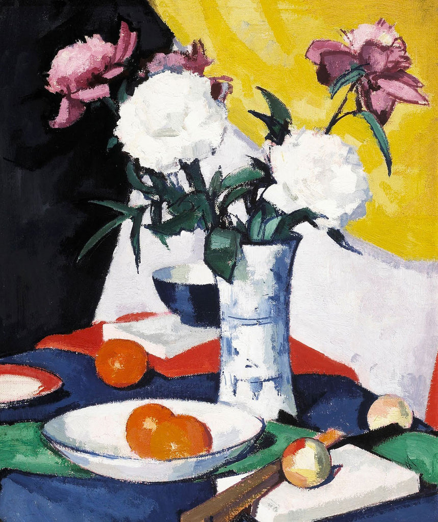 Samuel John Peploe - Flowers and Fruit