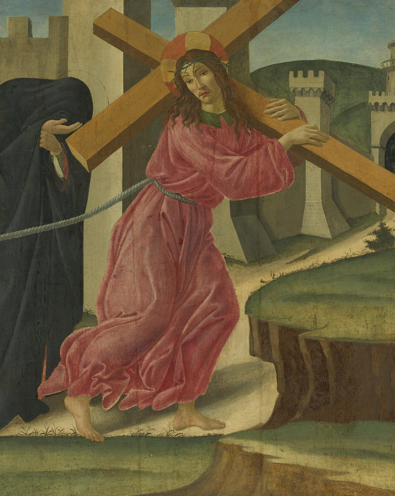 Sandro Botticelli - Christ Carrying the Cross