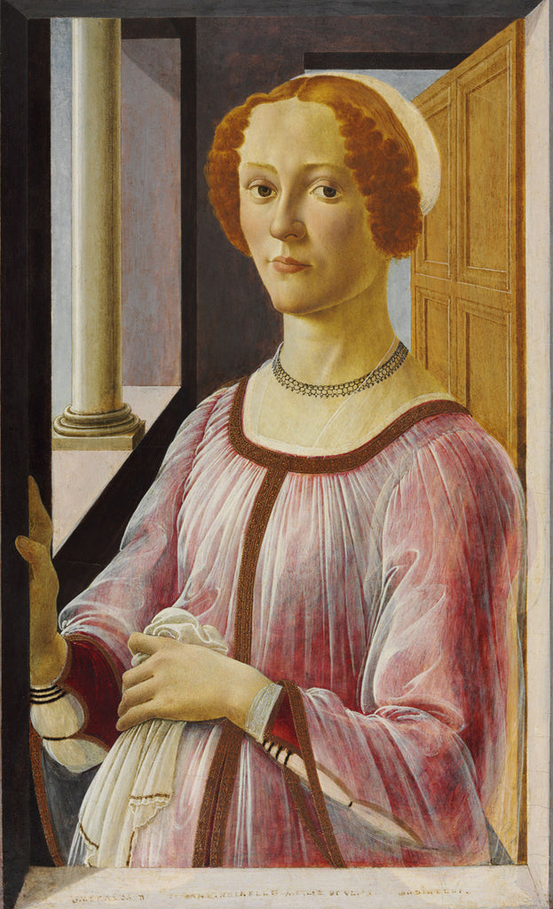 Sandro Botticelli - Portrait of a Lady known as Smeralda Bandinelli
