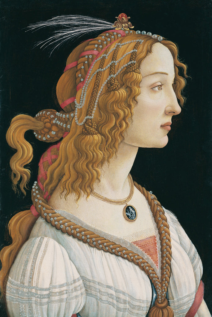Sandro Botticelli - Portrait of a young Lady