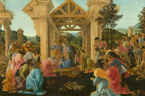 Sandro Botticelli - The Adoration of the Magi