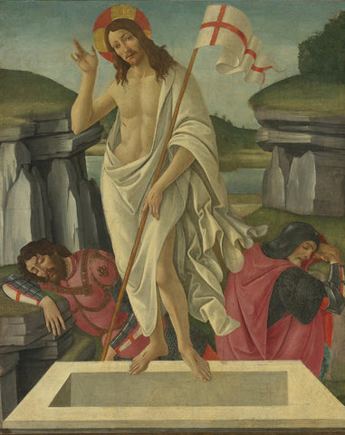 Sandro Botticelli - The Resurrection